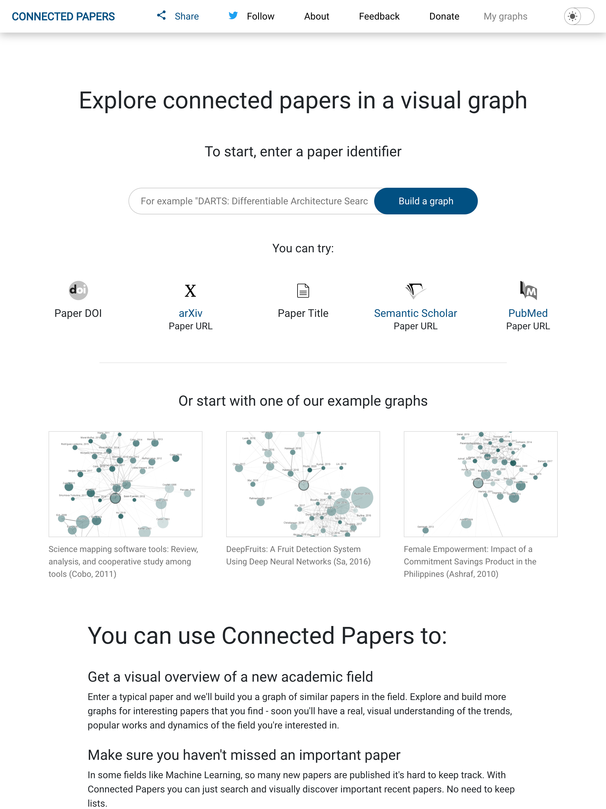 Connected Papers