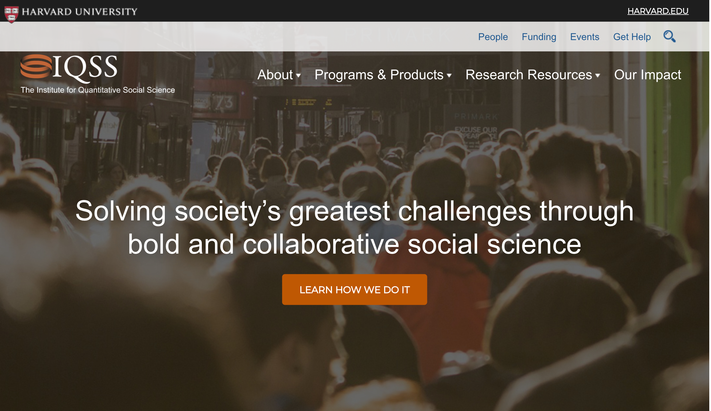 IQSS: The Institute for Quantitative Social Science