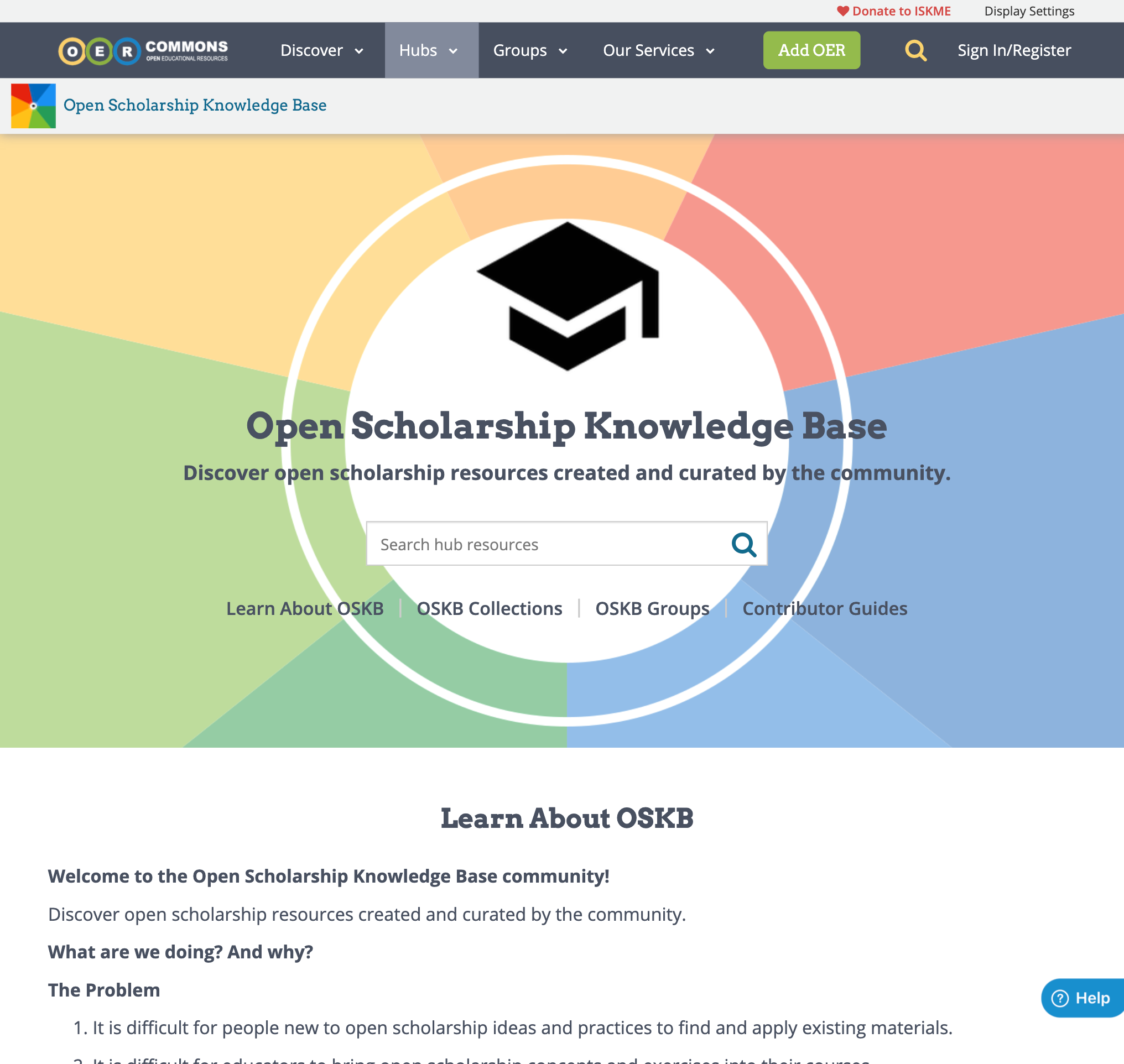 Open Scholarship Knowledge Base