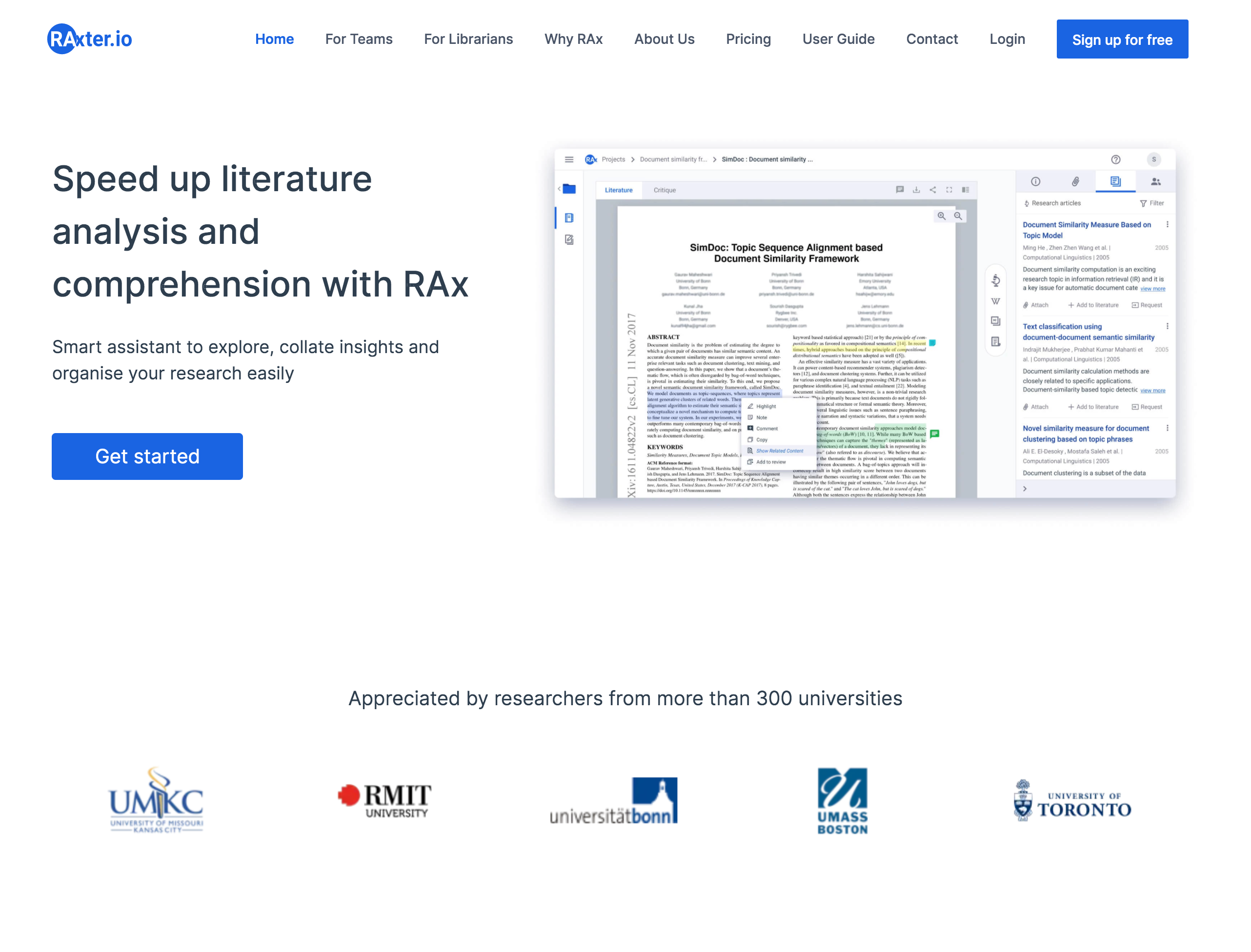RAx - Your Personal Smart Research Assistant